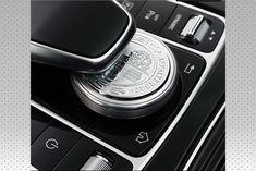 Neu Emblem Schriftzug AMG Touchpad Mercedes W205 W213 W222 GLE GLS W447 Silver Accessories, Car Accessories, Benz C, Aluminium Alloy, Multimedia, Mercedes Benz, Auto Accessories