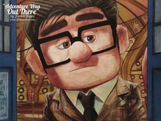'Adventure Was Out There' (UP / Doctor Who) by James Hance