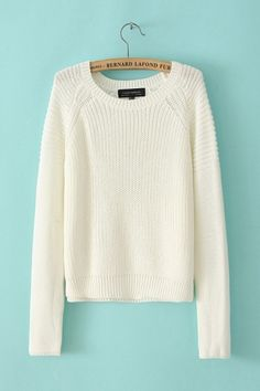 perfect white sweater