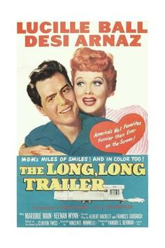 The Long, Long Traile, Desi Arnaz, Lucille Ball, 1954 Art Print