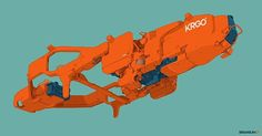 KRGO  #scifi #scifiart #conceptart #spaceship #hardsurface #vehicles #lineart #drawing #industrialdesign #instaartwork #instagramart by briansumcreative