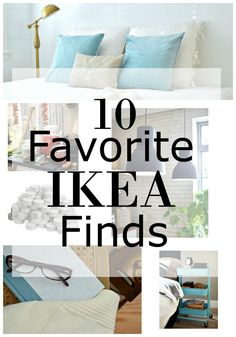 10 favorite IKEA finds from frames to throws to food storage to help decorate and organize your home. Diy Hacks, Ikea Hacks, Decoration Inspiration, Ikea Furniture, Apartment Living, Living Rooms, Home Organization, Home Projects, Small Spaces