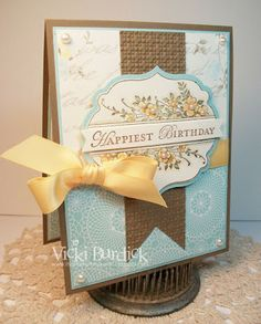 Apothecary Art - Stampin Up