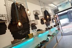 Boxfresh store by Design4Retail, London store design