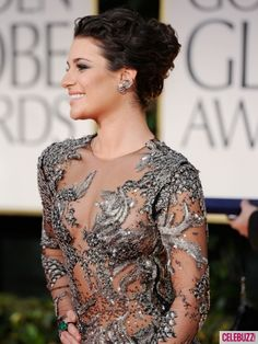 I don't care what the critics said. Lea Michele's dress was amazing to me. #FashionFadesStyleRemainsTheSame