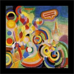 Artist: Robert Delaunay     Completion Date: 1914    Style: Orphism     Genre: abstract painting