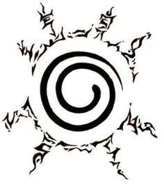 Naruto stomach tattoo sealing