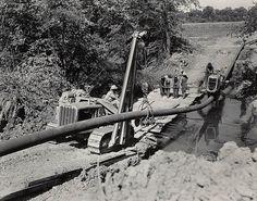 Vintage Pipeline Photo