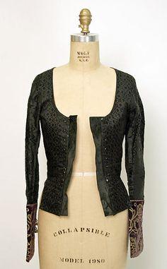 Jacket. Ensemble Date: late 19th century Culture: Spanish
