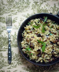 mazsolasbulgursalata2 Risotto, Grains, Rice, Meals, Ethnic Recipes, Archive, Food, Bulgur, Meal
