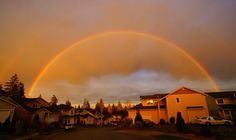 Rainbow in the sky by tollen, via Flickr
