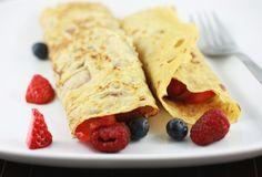 Coconut Crepes - Really need to get some coconut flour to start experimenting. Leave out the vanilla to make these savory.