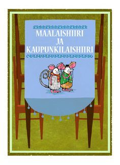 Maalaishiiri ja kaupunkilaishiiri | Papunet Fairy Tale Story Book, Fairy Tales, Storytelling, Language, Activities, Education, Reading, Frame, Books