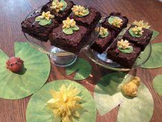 Lilypad Brownies for Princess Tiana Party