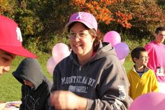 Ann  Volunteering at the  Going the Distance for Gabby 5K