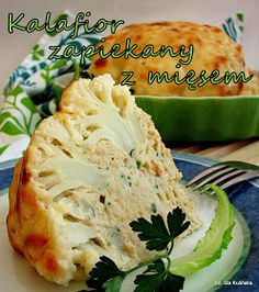 Tasty Pyza: Cauliflower gratin with meat and cheese sauce My Favorite Food, Favorite Recipes, Cauliflower Gratin, Meat And Cheese, Cheese Sauce, Polish Recipes, Cabbage, Good Food, Food And Drink