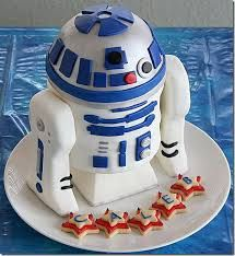 Image result for R-2-D-2 cakes