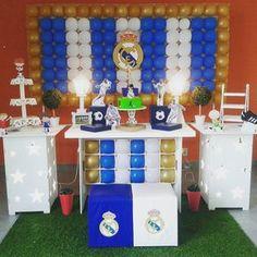 """11 Me gusta, 4 comentarios - Tok de Encanto (@tokdeencanto) en Instagram: """"Decoração Real Madrid Tok color painel Peca já nossas tabelas Email: contato@tokdeencanto.com.br…"""""""