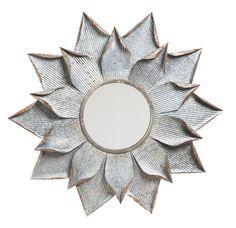 Multi Layer Flower Wall Mirror
