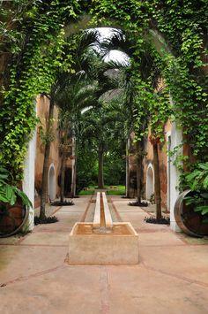 Mexican decor: hacienda petac, yucatán