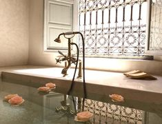 Just a few steps from Jemaa El Fna Square and its celebrated Moroccan markets, you will find Riad a hidden jewel created to bring you peace. Marrakech Morocco, Double Bedroom, Maine House, Clawfoot Bathtub, Dining Area, Swimming Pools, Design, Home Decor, Scenery