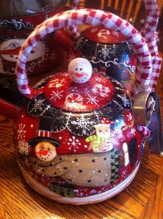 Christmas 2014,hand painted and designed by Lisa Stuckey