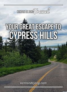 Cypress Hills in Alberta, Canada is the escape you didn't know you needed. With scores of hikikg trails, beautiful lakes and some of the most dynamic landscape in Canada, it's the perfect place to visit this summer.