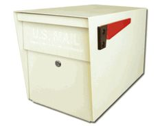Ultimate High Security Locking Mailbox in White