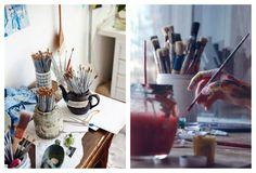 Artystyczny pokój - miesce przepełnione duszą artysty. - zdjęcie od cleo-inspire - Gabinet - Styl Art- deco - cleo-inspire