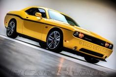 Great 2012 Dodge Challenger SRT8 Yellow Jacket getting featured on Cool Rides Online