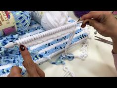 Himalaya Dolphin Baby ile Balık Sırtı Battaniye Yapımı- Dolphin Baby Blanket - YouTube Hairstyle Trends, Baby Dolphins, Delphine, Baby Knitting, Embroidery, Blanket, How To Make, Handmade, Crafts