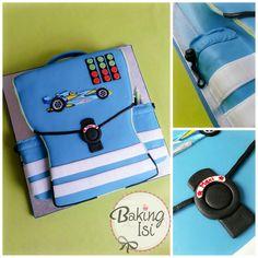 Schoolbag cake   ***   Schulranzen / Schultasche Torte