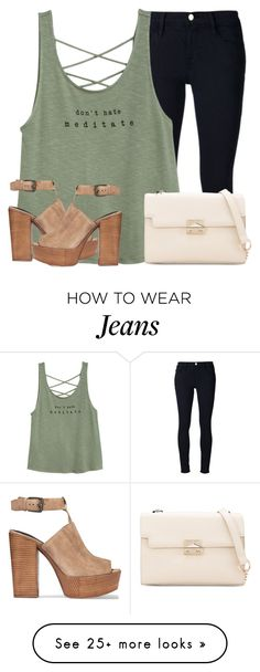 """""""Street Style"""" by maevaxstyle on Polyvore featuring Frame Denim and Rebecca Minkoff"""