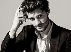 Jamie Dornan, to be Christian Grey, don't even care how much the book sucked, just shut up and take my money!