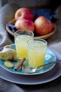 Apple cider vinegar elixir: sub agave for honey to veganize