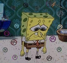 Cartoon Icons, Cartoon Memes, Cartoons, Spongebob Background, Mood Instagram, Sad Pictures, Mood Wallpaper, Cartoon Profile Pictures, Spongebob Memes