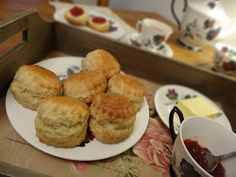 Big Fluffy Scones #eggs #milk #bread flour