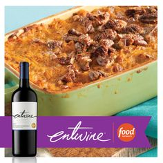 Sweet Potato Casserole from @foodnetwork Kitchens. The perfect complement for any meal this season.  www.entwine-wines.com/pairings/sweet-potato-casserole