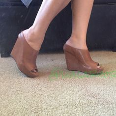 Summer Picknew Leather Wedges Steven By Madden