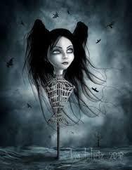 Risultati immagini per disegni dark gothic