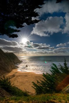 Gray Whale Cove, San Francisco, California