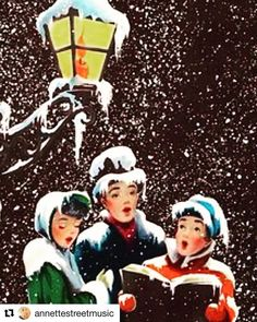 Old Christmas Post Сards — Carolers Vintage Christmas Images, Old Christmas, Old Fashioned Christmas, Retro Christmas, Christmas Bells, Vintage Holiday, Christmas Carol, Christmas Pictures, Christmas Themes