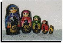 Russian Matryushka Nesting Dolls Article by Joan Bramsch
