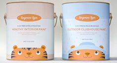 modern paint can packaging - Google Search