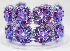 Deb Roberti's Tuscan Cuff Bracelet and Earrings Pattern