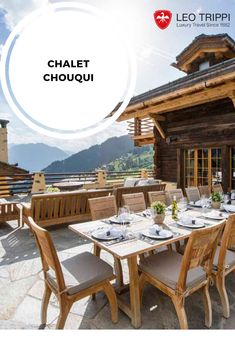 In a secluded location above Verbier town centre and with a beautiful spa and multiple living spaces, Chalet Chouqui is one of Verbier's most exclusive properties. Leo, Outdoor Furniture Sets, Outdoor Decor, Switzerland, Living Spaces, Luxury, Summer, Home Decor, Chalets