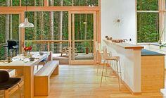 Method Homes Prefab interior.