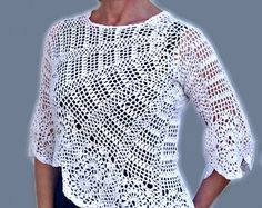 Beautiful Crochet and Hand knitted Dresses Cardigans.. by InnaDavi