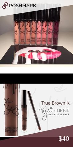 Kylie Jenner True Brown K Brand new with box Kylie Cosmetics Makeup Lipstick