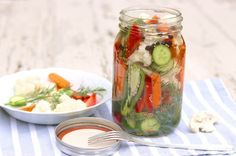 Easy Refrigerator Pickled Vegetables – The Fountain Avenue Kitchen